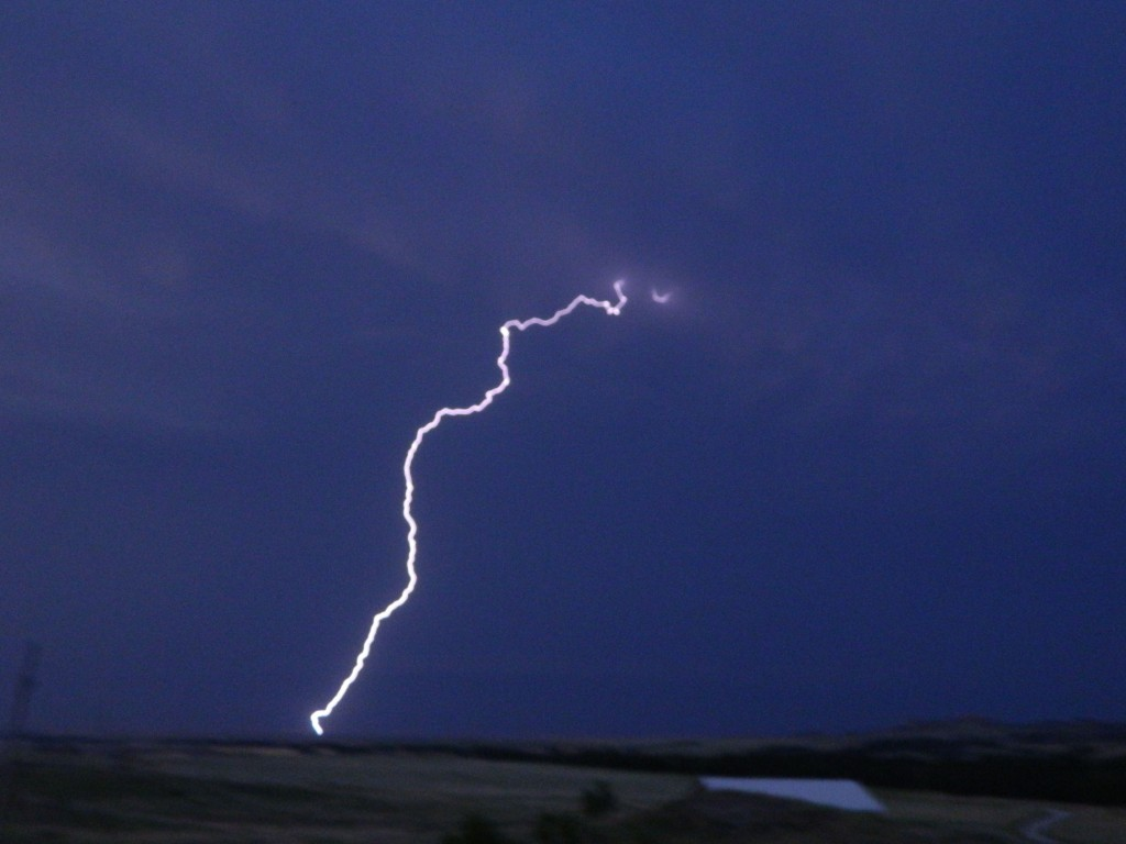 Lightening in Western Nebraksa
